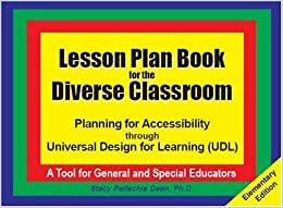 Lesson plan book for the diverse classroom planning for - Universal design for learning lesson plans ...