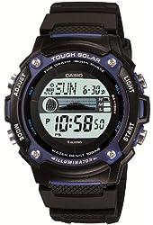Casio Sports Gear Tide Graph Moon Data Tough Solar Watch Model W-S210H-1AJF Men's Watch Japan Import