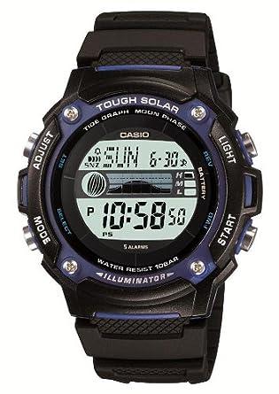 CASIO★♪腕時計★♪SPORTS GEAR スポーツギア アウトドアモデル タフソーラー タイドグラフ・ムーンデータ搭載 W-S210H-1AJF メンズ