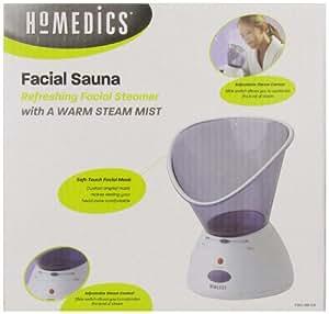 Homedics Facial Refresher Facial Sauna and Inhaler (White)