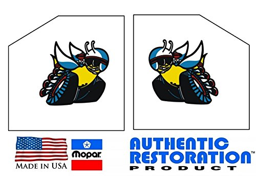 Mopar Scat Pack Window Bees Decals Dodge Challenger Charger Dart Demon by Southern Car Parts (Dodge Dart Window Decal compare prices)