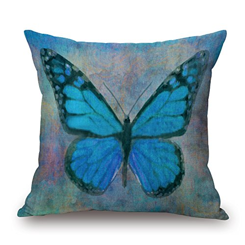 Alphadecor 20 X 20 Inches / 50 By 50 Cm Butterfly Throw Pillow Covers ,twice Sides Ornament And Gift To Monther,birthday,chair,bench,living Room,kids (Gold Emblem Gummy Bears compare prices)
