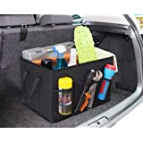 Home Basics Foldable Trunk Organizer with Pockets