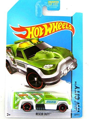 2014 Hot Wheels Treasure Hunt Hw City (47/250) - Rescue Duty