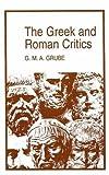 The Greek and Roman Critics