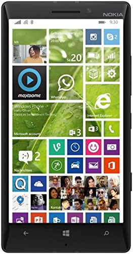 NOKIA LUMIA 930 RM-1045 32GB BLACK FACTORY UNLOCKED 4G LTE 3G 2G GSM SIMFREE RM 1045 [ 2G 850/900/1800/1900 | 3G 850/900/1900/2100 | 4G LTE 800/900/1800/2100/2600 ] no warranty (Windows Phone 930 compare prices)