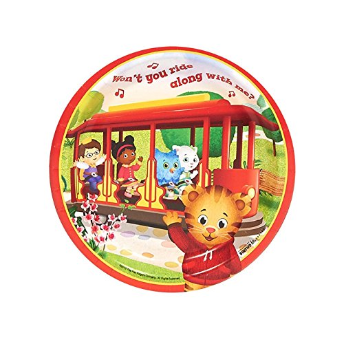 Big Save! Daniel Tiger's Neighborhood - Dessert Plates