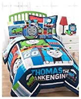Thomas the Train Right on Time Bedding Comforter and sheets bed in a bag TWIN