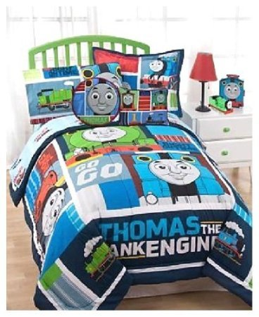 Thomas the Train Right on Time Bedding Comforter and sheets bed in