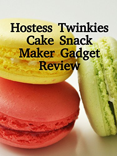 Review: Hostess Twinkies Cake Snack Maker Gadget Review on Amazon Prime Video UK