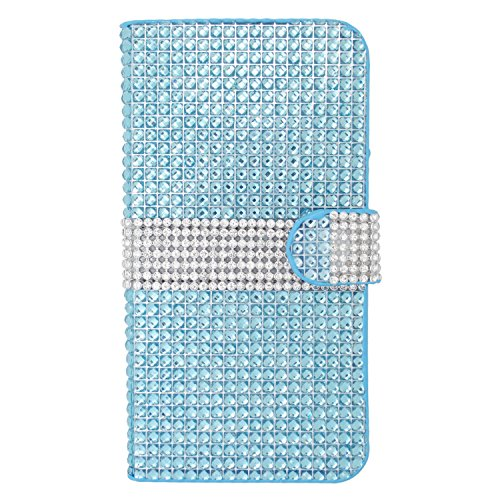 Eaglecell For Iphone 6 Plus 5.5 Leather Pouch Fds77 Lite Blue