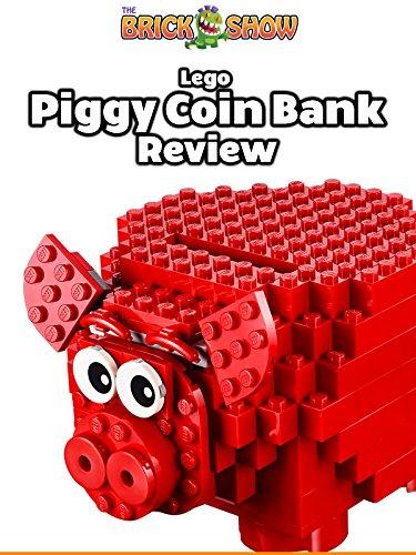 LEGO Piggy Coin Bank Review (40155)