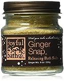 Joyful Bath Ginger Snap Releasing Bath Salts Ginger 9 Ounce