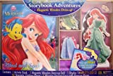 Artistic Studios Disney Princess Magnetic Dress-Up and Storybook Set (50-Piece)