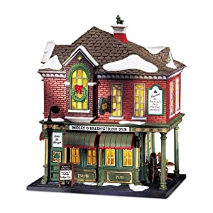 #!Cheap Department 56 Christmas In The City Molly O'Briens Irish Pub