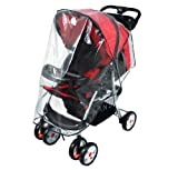 Simplicity Stroller Pushchairs Rain Cover Wind/Weather Shield