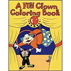 MMS 3 Way Coloring Book - Clown - Trick