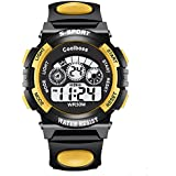 Coolboss Children Watch Outdoors Sports Kids Boys Girls LED Digital Alarm Stopwatch Waterproof Wristwatch Children... - B01MG8U020
