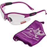 Cougar Bifocal Safety Glasses Hot Pink Frame Clear 1.50 Magnification Lens ANSI Z87.1 – Matching Pink Pouch thumbnail