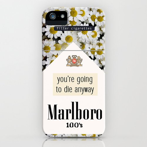 society6 iPhone5/5sケースyou're going to die anyway