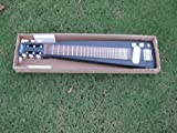 Custom Hand Made Lap Steel Guitar Satin Black