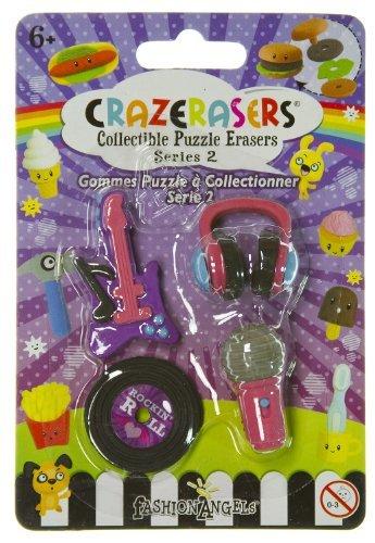 CrazErasers Collectible Erasers ~ Rock Star (Series 2) - 1