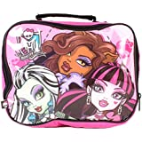 Monster High Close Up Lunch Bag, Multi-Colour