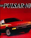 1986 Nissan Pulsar Nx Deluxe Original Sales Brochure