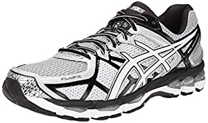ASICS Men's Gel-Kayano 21 Running Shoe,Lightning/White/Black,9.5 M US
