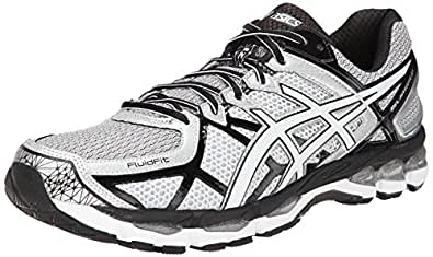 ASICS Men's Gel-Kayano 21 Running Shoe,Lightning/White/Black,7 M US
