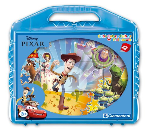 Imagen principal de Clementoni - 411474 - Cubos - Disney Pixar