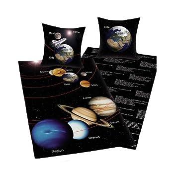 pas cher parure housse de couette galaxie planete espace acheter en ligne magasin lit enfant 2013