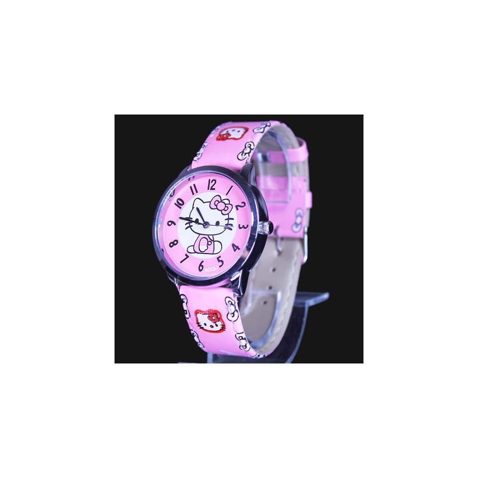 Hello Kitty Pink Wrist Watch + Promo Hello Kitty Charm