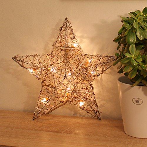 beleuchteter stern fenster dekoration weihnachten. Black Bedroom Furniture Sets. Home Design Ideas