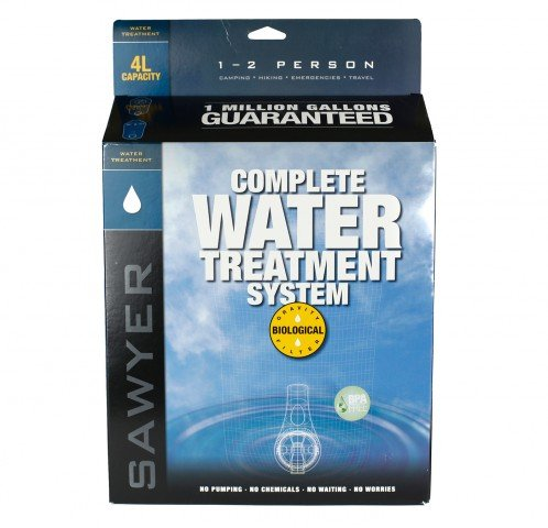 Sawyer Products Sp184 Two Bag Complete Water Filtration System, 4-Liters Each front-118278