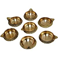 SWS Brass Kuber Diya Brass Deepak Diwali Pooja Item - Deepawali Lighting Brass Oil Diya Diwali Decoration Pooja... - B01LAU1GZ6