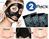 #4: Pilaten black head acne white head remover charcoal cream mask strips (2 Pack)