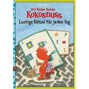 Der kleine Drache Kokosnuss - Lustige Rätsel für jeden Tag (Lernspaß- Rätselhefte, Band 12)