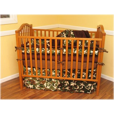Blue Camo Baby Bedding 3237 back