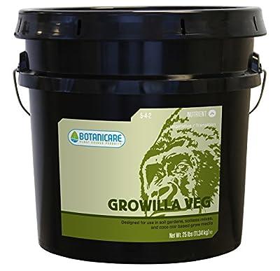 Botanicare Growilla Veg Organic Plant Food