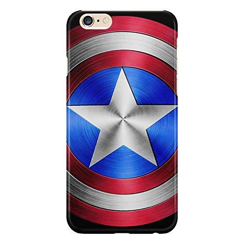 Cover Custodia Protettiva Superhero Supereroi Captain America Shield Illustratiion Metallo Adamantio Design Nerd Iphone 4/4S/5/5S/5SE/5C/6/6S/6plus/6s plus Samsung S3/S3neo/S4/S4mini/S5/S5mini/S6/note