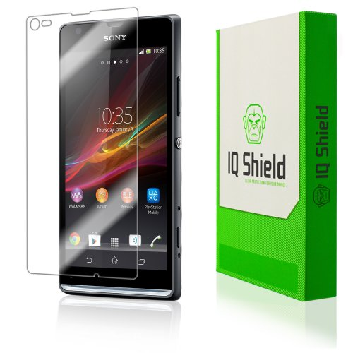Iq Shield Liquidskin - Sony Xperia L Screen Protector - High Definition (Hd) Ultra Clear Phone Smart Film - Premium Protective Screen Guard - Extremely Smooth / Self-Healing / Bubble-Free Shield - Kit Comes With Retail Packaging And 100% Lifetime Replacem front-320630