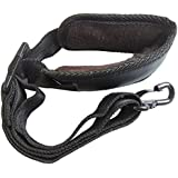Xinlink NEW Adjustable Soft Leather Padded Neck Strap for Alto Tenor Soprano Saxophone with Metal Hook Sax Accessories Instrument