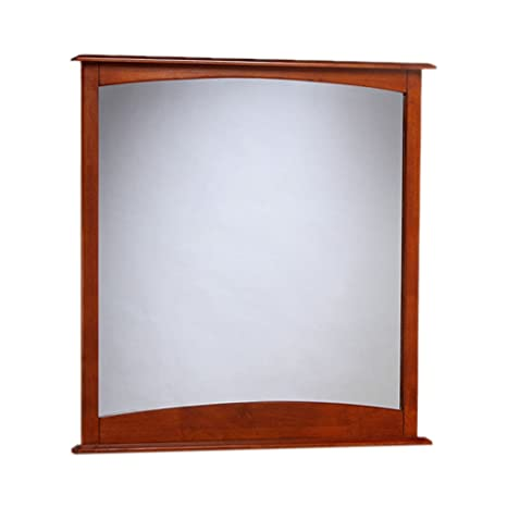 Night And Day Furniture Clove Mirror For 6 Drawer Dresser In Cherry Finish