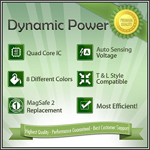 Dynamic Power Apple 85 Watt Magsafe 2 Power Adapter For 15