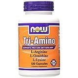 NOW Foods Tri-amino, 120 Capsules