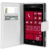Mumbi Case in Book Style for Nokia Lumia 925 White
