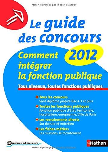 Le guide des concours 2012