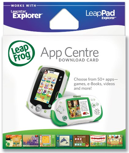 LeapFrog Explorer App Center Download Card (for LeapPad and Leapster)