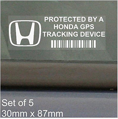 5-adesivi-per-finestrino-87-x-30-mm-honda-gps-tracking-device-security-auto-furgone-civicjazzcr-vacc